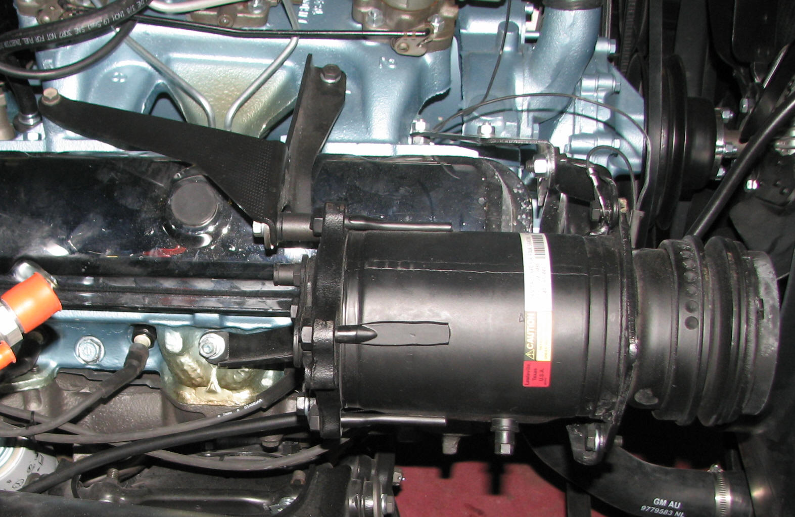 The Part Guy Pontiac Compressor Mounting Brackets 2 4 Engine Diagram Ac Low Port Click On Thumbnail For A Full Size Image