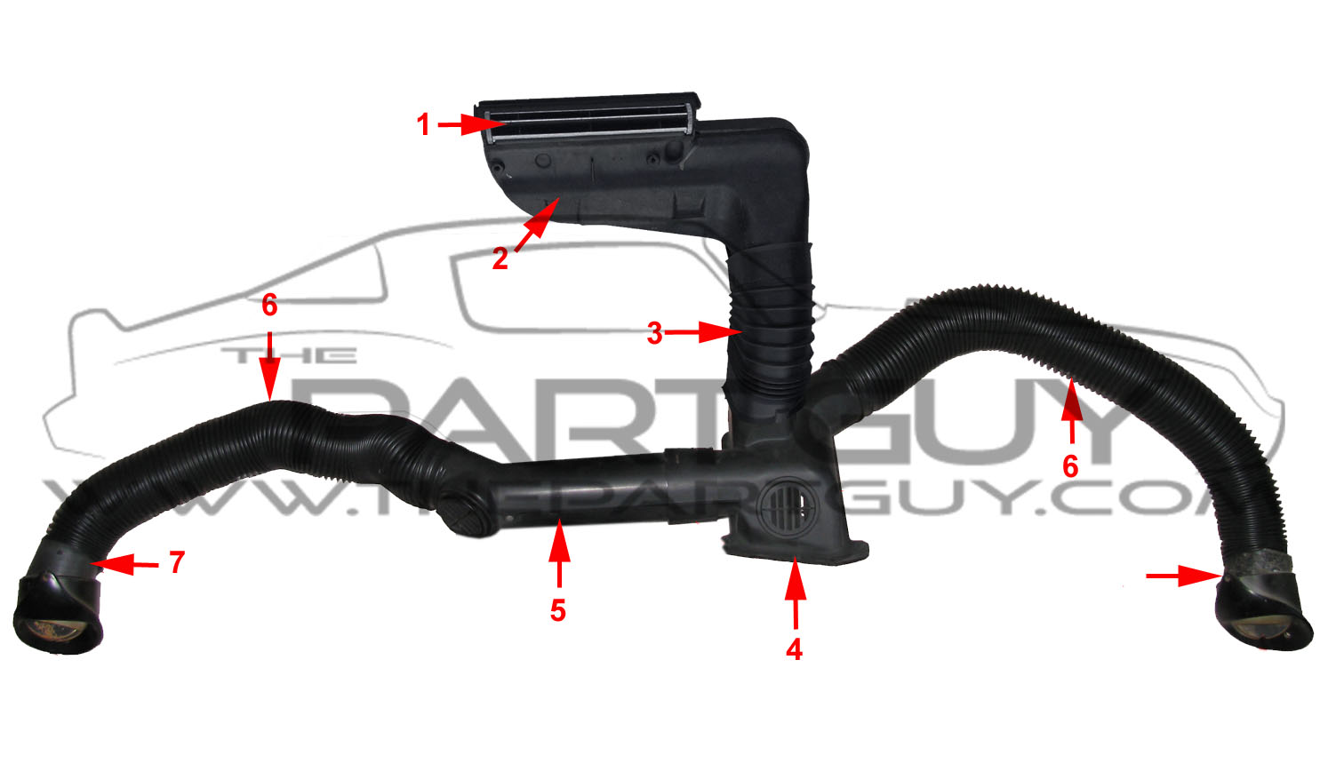 Ducts Impala Assembled Watermark on 5 7 Heater Hose Diagram