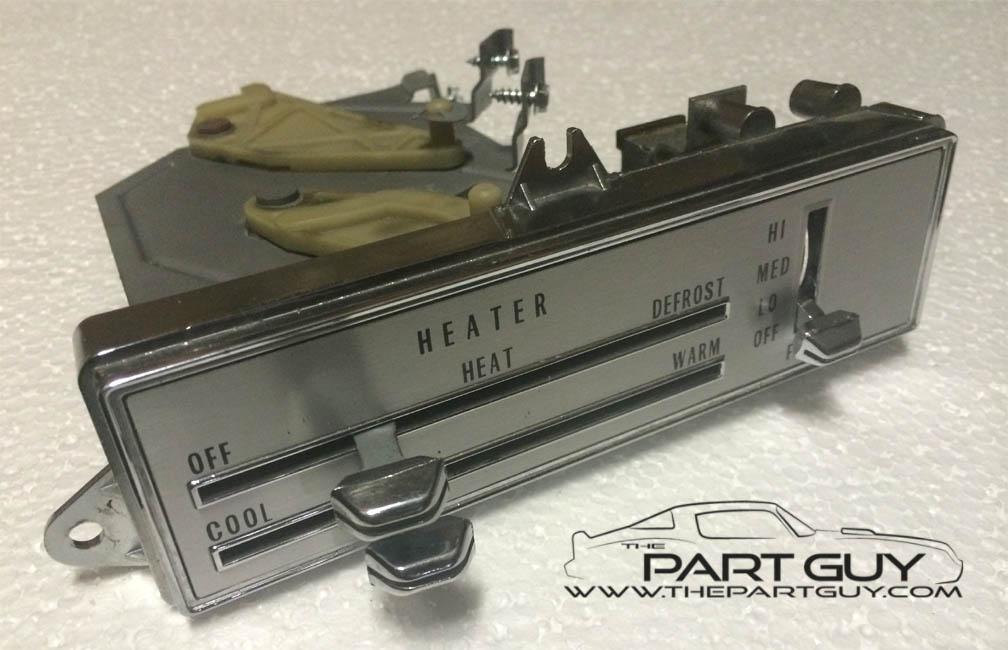 The Part Guy - Cutlass, 442 & F85 Heater & A/C Controls & Parts