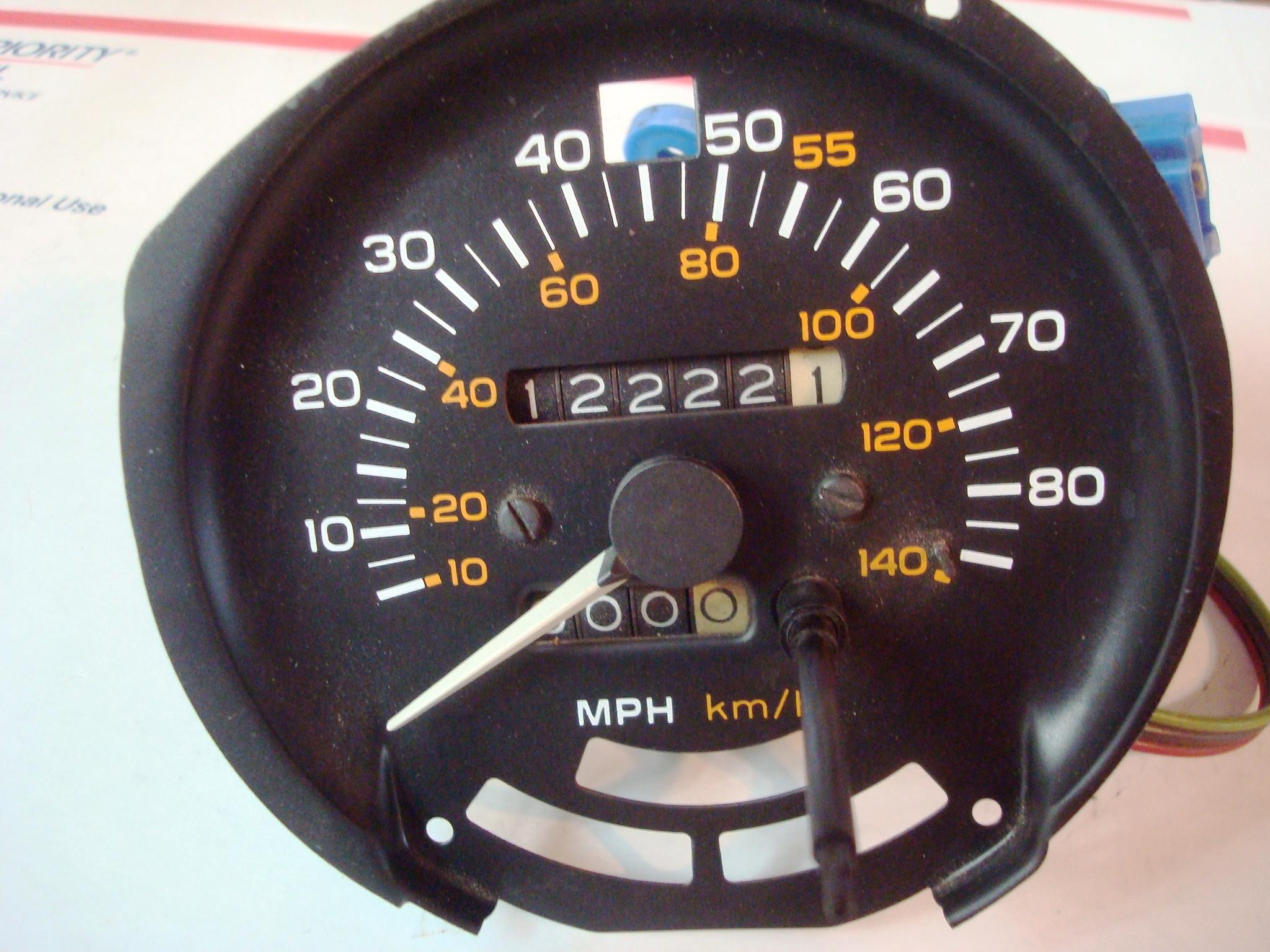 the part guy clocks, speedometers \u0026 tachometersfirebird trans am formula 1981 80 mph speedometer