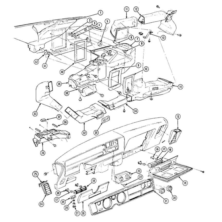 1968 Chevelle Vacuum Diagram